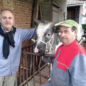 Gianni Macelàr Francesco Massara allevatore di S.Stefano a Oleggio