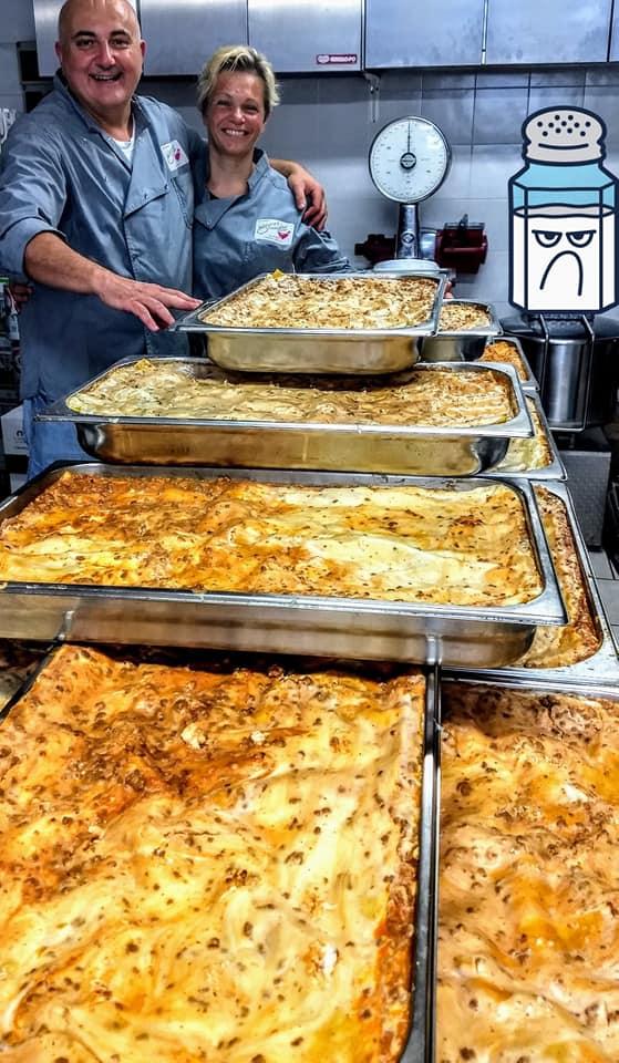 Lasagne al forno Gianni Macelàr