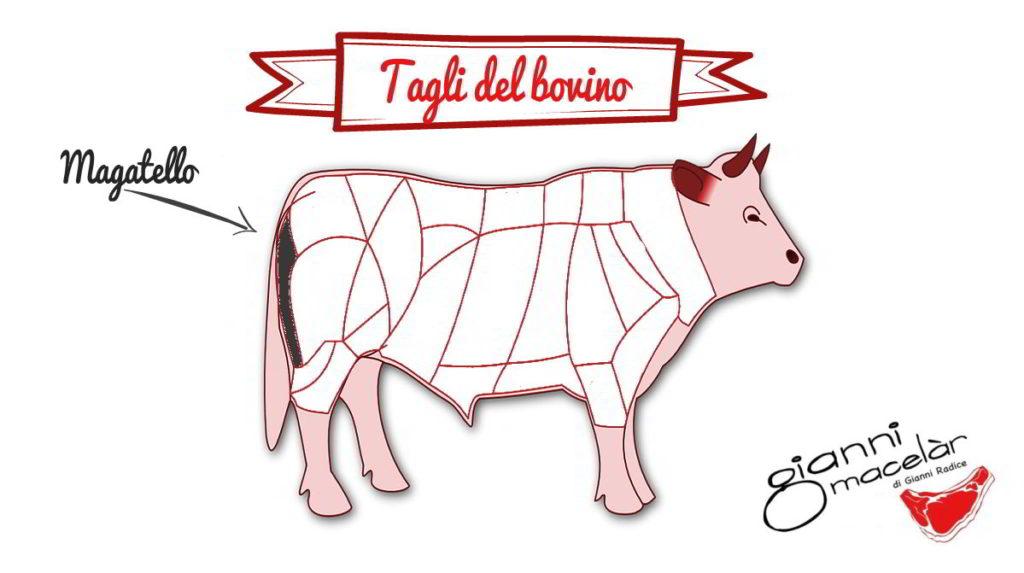 Taglio del bovino: Magatello