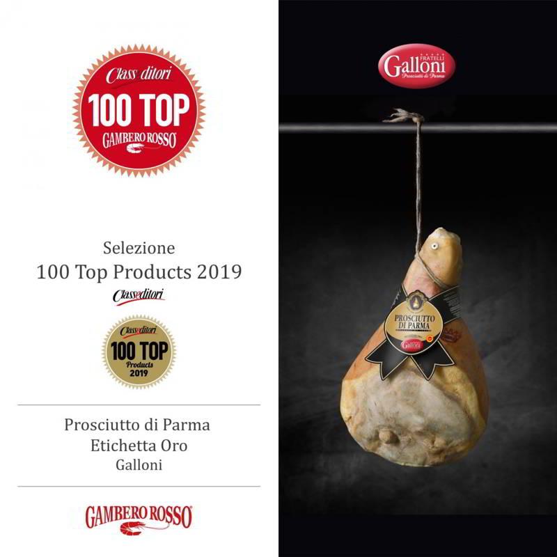 Prosciutto Crudo di Parma Fratelli Galloni Top 100 Gambero Rosso