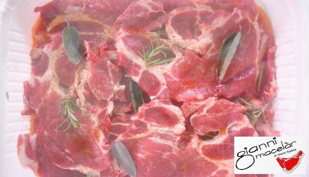 Coppa di maiale marinata del Gianni Macelàr