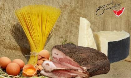 Ingredienti pasta alla carbonara