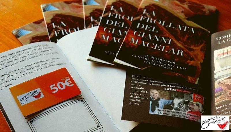 Regala una frollata Gianni Macelàr: libro e prepagata